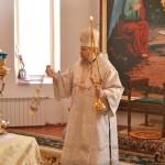 17 января Божественная литургия в с.Кошки