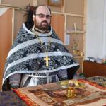 В Отрадном 25 февраля прошла Божественная литургия