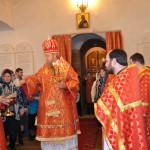 Литургия 19 апреля в с.Борское в Сретенском храме