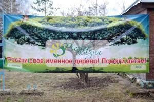 Благотворительная акция «Росток жизни» — село Борское
