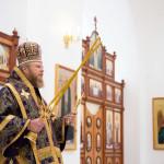 Божественная литургия в Соборе города Отрадного по случаю 40-летнего Юбилея епископа Никифора