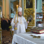 Божественная литургия в храме Архангела Михаила в с.Красные Ключи 21 ноября