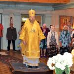 10 июля, Божественная литургия в храме Рождества Пресвятой Богородицы города Отрадного