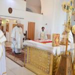 В день Преображения Господня епископ Отрадненский и Похвистневский Никифор возглавил Божественную литургию в кафедральном соборе г.Отрадного